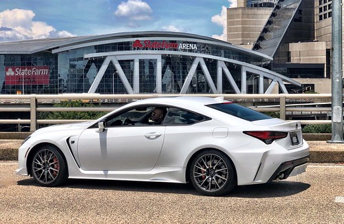 Big Tigger and the 2020 Lexus RC F: Atlanta Lifestyle Photo