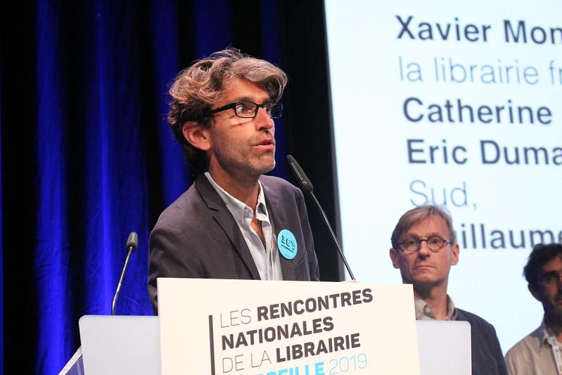 Xavier Moni - Rencontres nationales de la librairie française