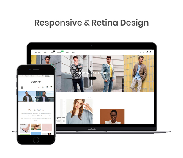 Responsive Design & Supports All Devices