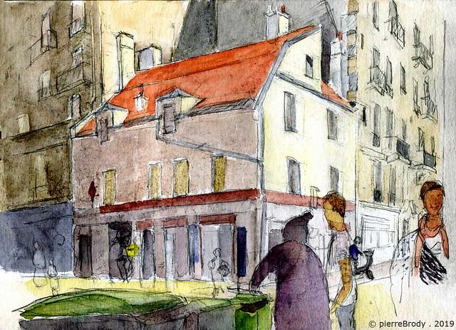 rues Charonne-Leon-Frot, à Paris