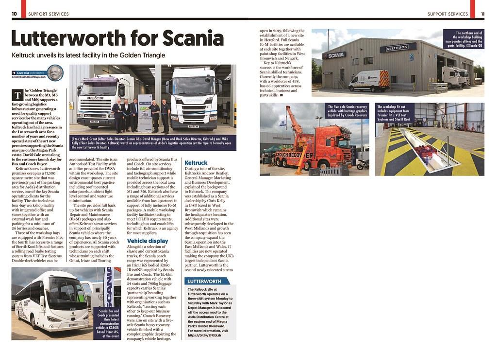 Keltruck Scania Lutterworth