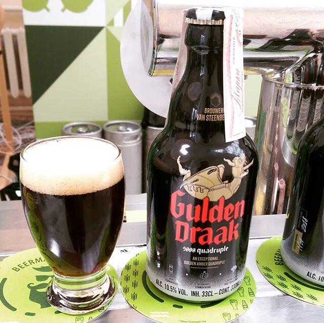 #Gulden #Draak 9000 #Quadruple #beer by @gulden.draak (@brouwerijvansteenberge) #guldendraak #guldendraak9000 #guldendraak9000quadruple #guldendraakbeer #brouwerijvansteenberge #vansteenberge #beermasterday2019 #belgianbeers #Belgian #belgianbeer #Belgian