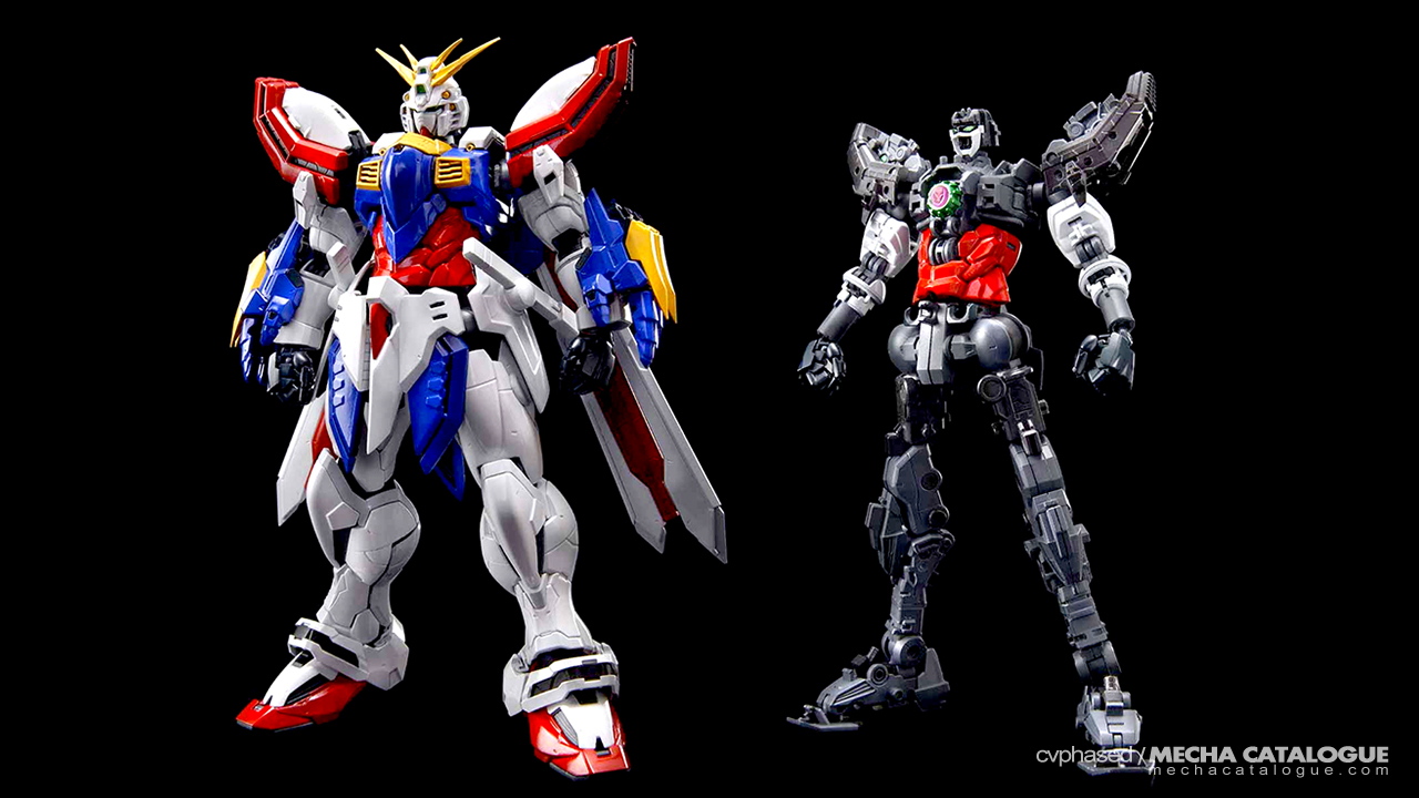 CG Renders and Details! HGUC Penelope & Hi-Resolution Model God Gundam