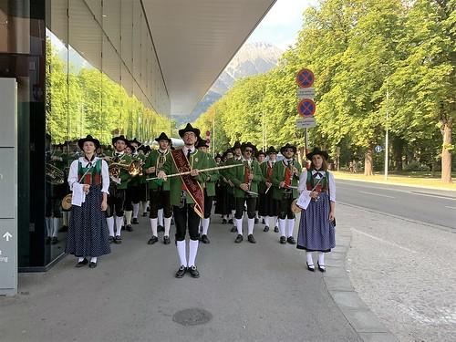 Chargé d´Affaires Robin Dunnigan at UNO-Innsbruck Summer School