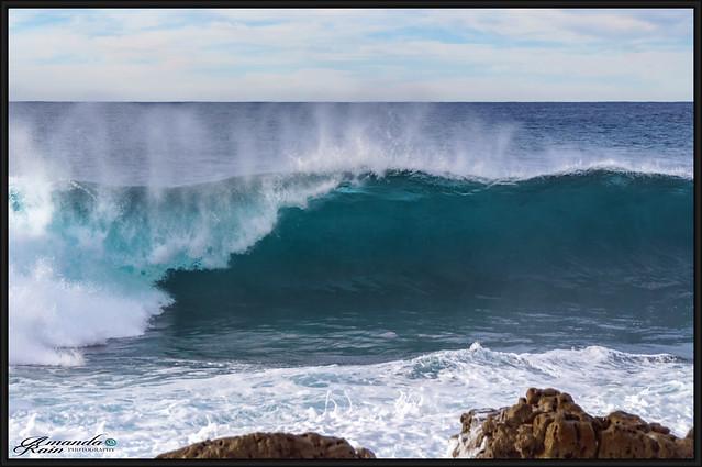 Moes Rock Winter Swell