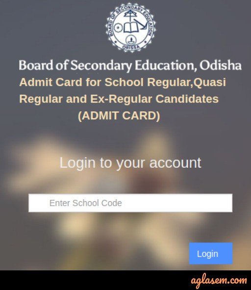 Odisha HSC Supplementary Admit Card 2019