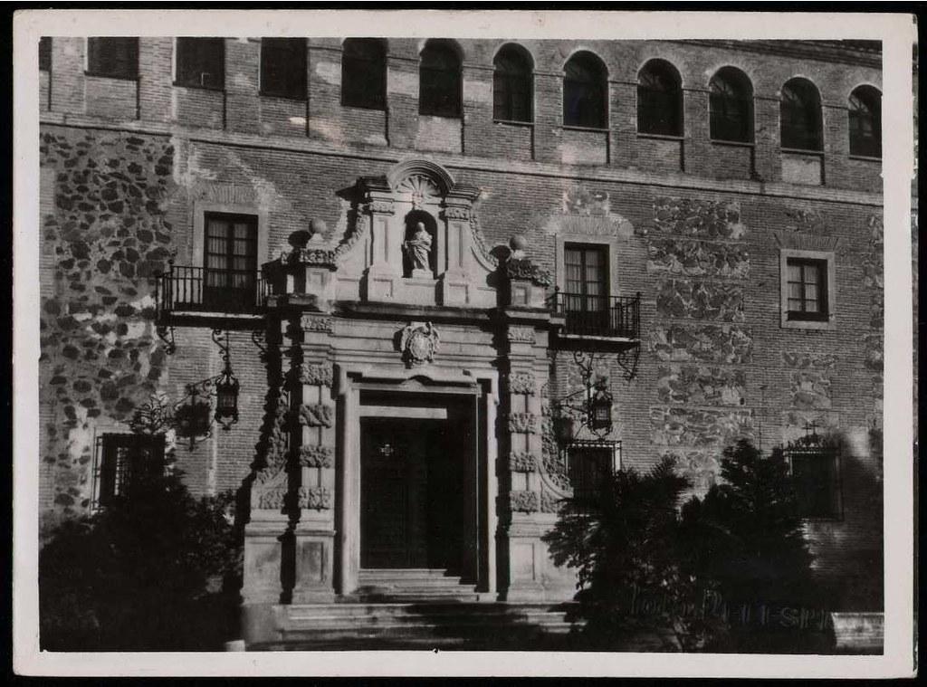 Monasterio de San Bernardo o de Monte Sión en 1936. Biblioteca Nacional de España