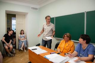 10 июня 2019 состоялись защиты дипломов студентов-переводчиков.  Фотографии: Арина Депланьи