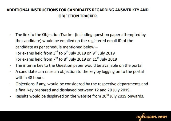 DUET 2019 Answer Key to Release on 9 and 11 Jul 2019; Check Details Here