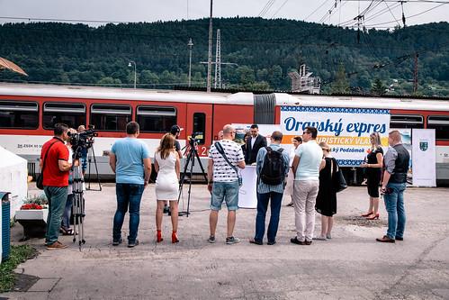 Oravský expres: spustenie špeciálneho turistického vlaku