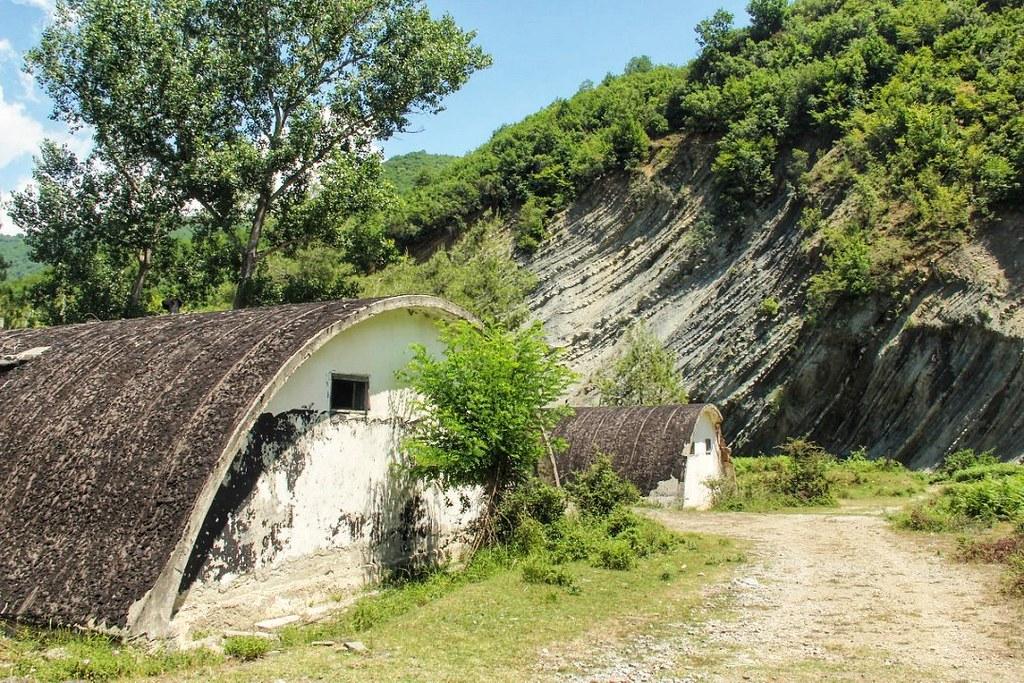 Abandoned bunkers, Albania