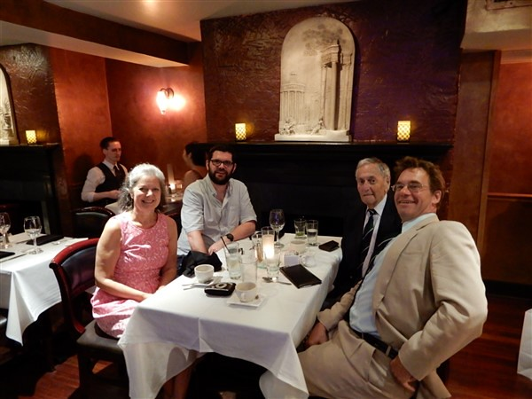 Dinner in Washington June 2019