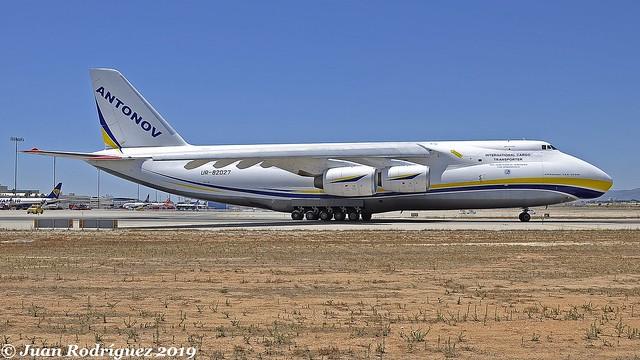 UR-82027 - Antonov Airlines (Antonov Design Bureau) - Antonov An-124-100  - PMI/LEPA