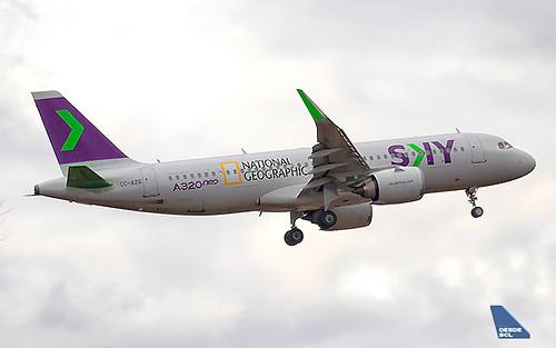 SKY A320neo NatGeo (Gustavo Martínez)