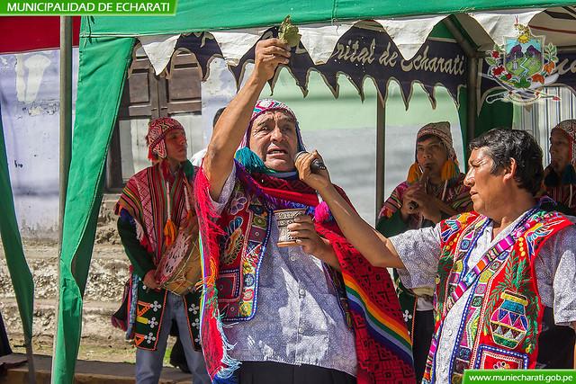 Ceremonia ancestral del pago a la Pacha Mama