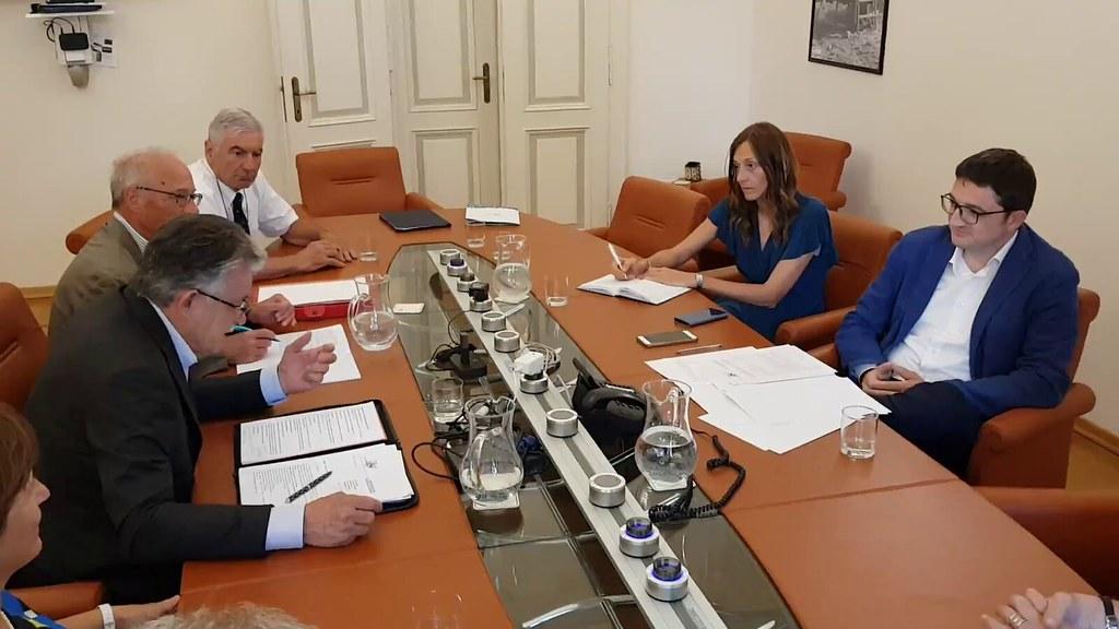 2019 - Incontro con il Presidente della P.A.T. dr. Maurizio Fugatti