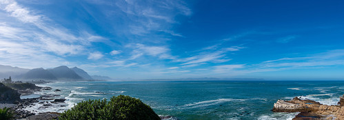 south africa nikon landscape hermanus indian ocean sea sky clouds blue scenery