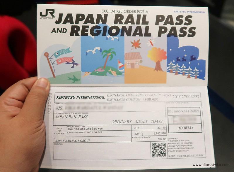 JR pass 1