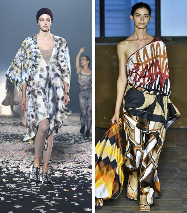 Foulard Print Trend RUNWAY 2