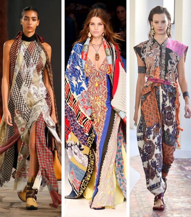 Foulard Print Trend RUNWAY 1