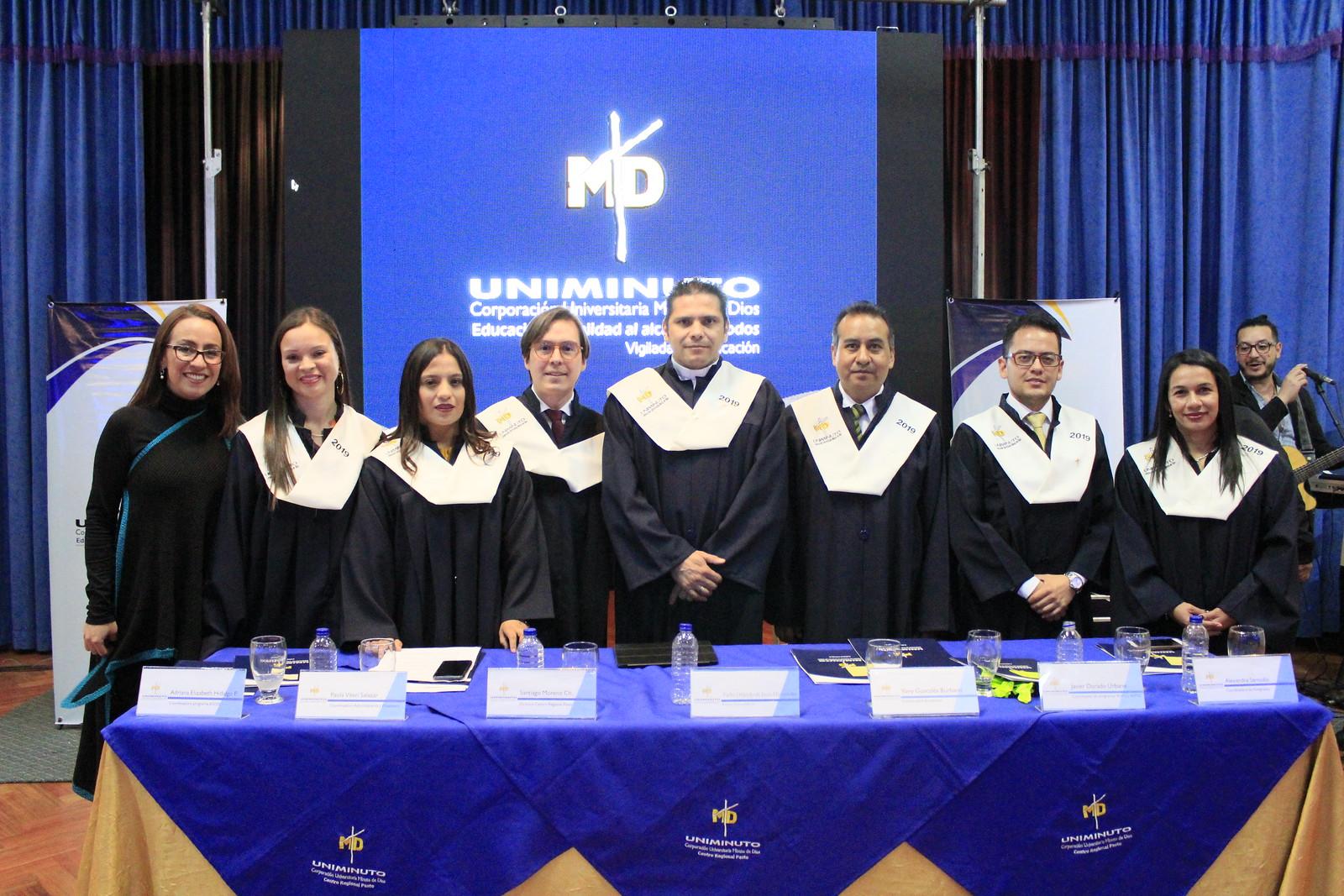 Grados UNIMINUTO Centro Regional Pasto