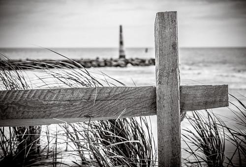 fence - over looking the ocean (Atlantic City NJ)
