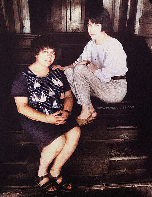 Pam & Miriam | Original Photo by Doris Thomas/Fairfax Media