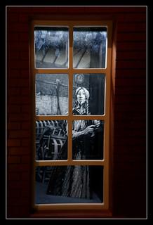 Belfast NIR - Titanic Belfast flax linnen factory display 02