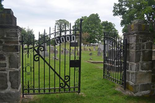 cemetery tombstones goodwillny montgomreyny orangecountyny gate rustyandcrusty