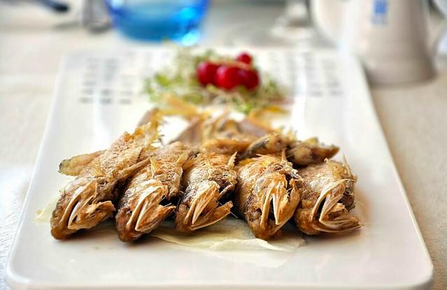 ElBund fritura de anchoas del pacífico