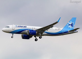 F-WWIP Airbus A320 Neo Interjet