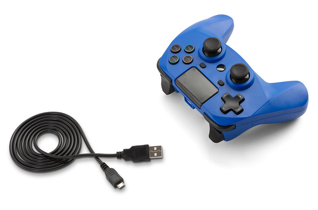 SB914539 PS4 Game Pad 4 S Wireless (blue) 03