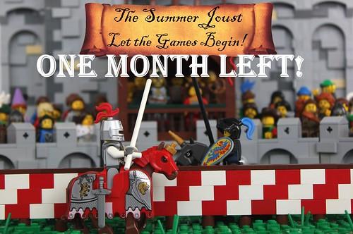 Summer Joust 2019: One Month Left