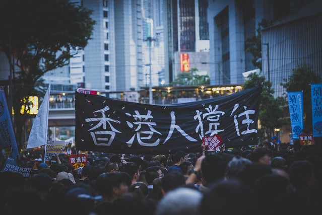 550,000 Hong Kongers protested against extradition law on 1 Jul 2019