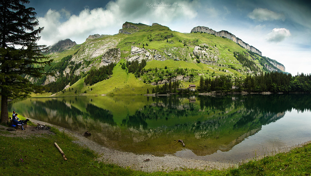 Swiss reflection (Seealpsee, Alpstein)
