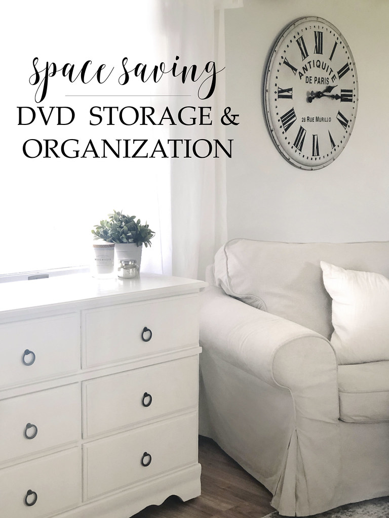 Space Saving DVD Storage & Organization