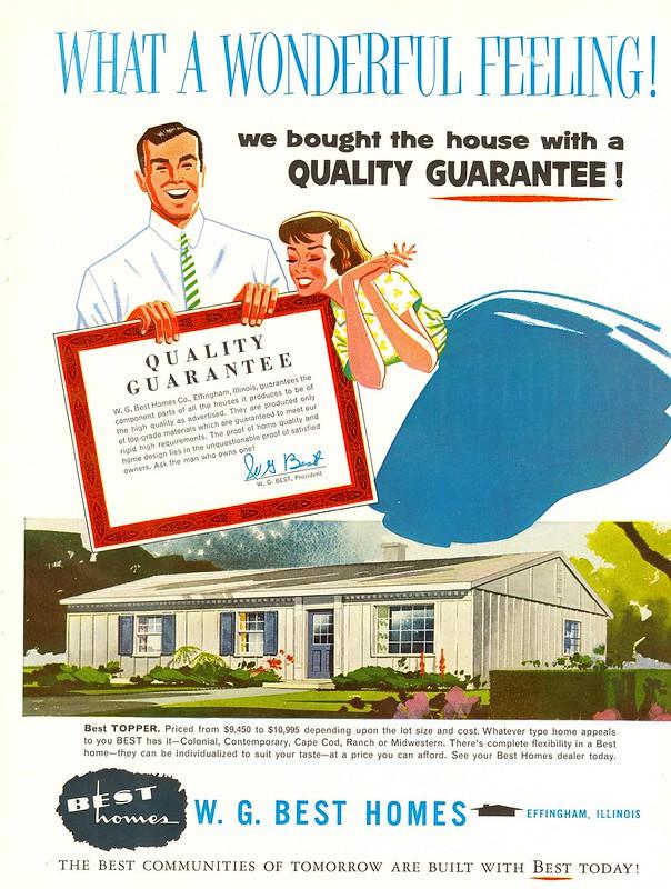 W.G. Best Homes 1958