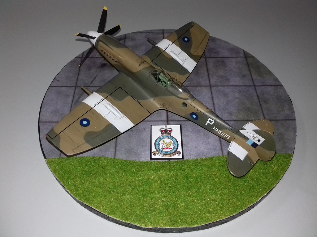 Another 1/48th Airfix Spitfire XIV - Ready for Inspection - Aircraft