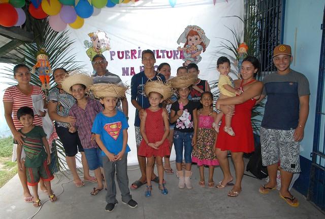 02.07.19. Ação de Saúde leva atendimento para crianças no Distrito de Saúde Leste.