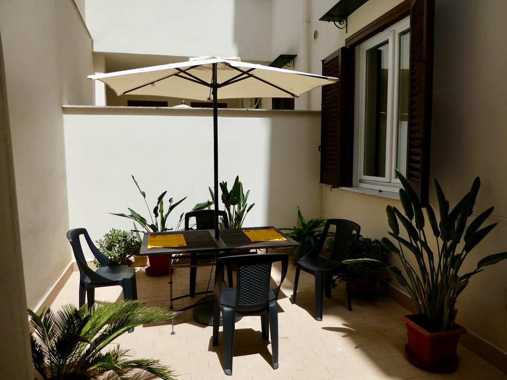 Our secluded apartment terrace, Palermo