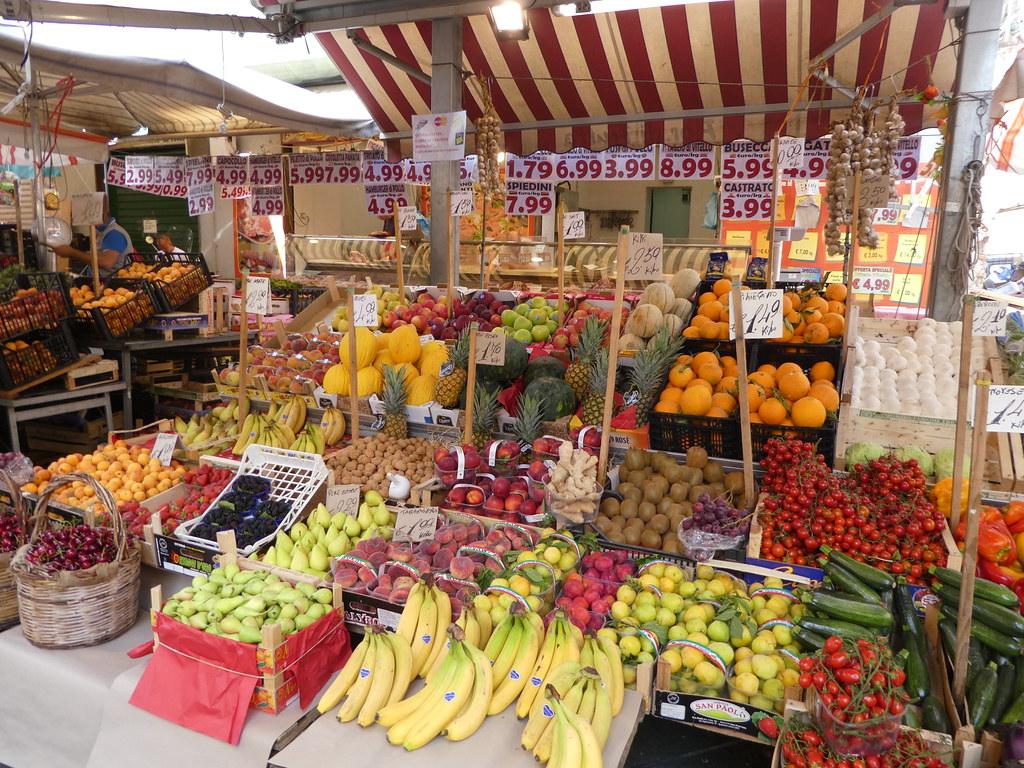 Ballero market, Palermo