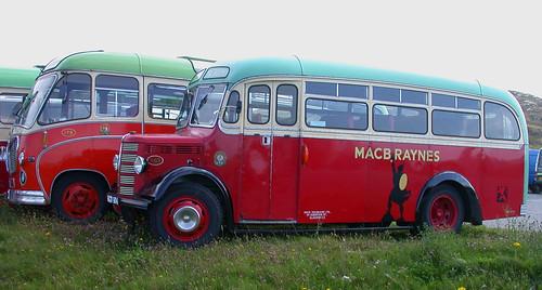 MacBrayne buses at Homore