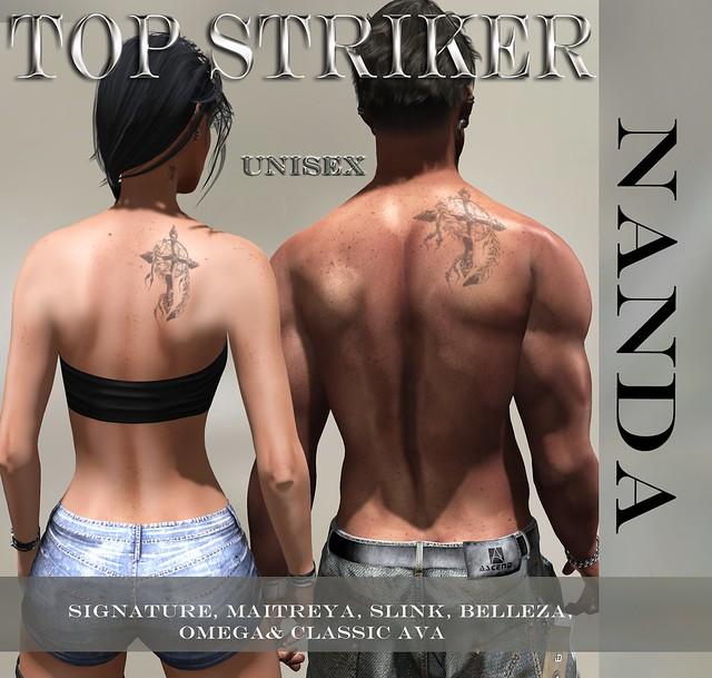 TOP STRIKER  NANDA TATTOO SL