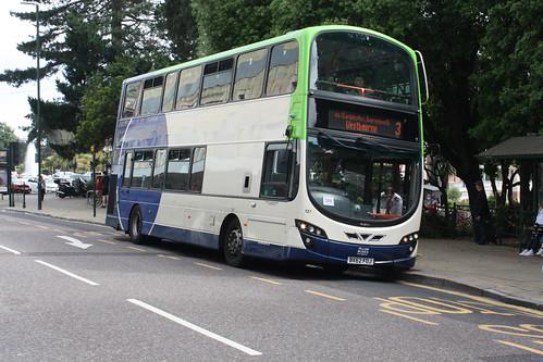 Yellow Buses 127 BX62FOJ