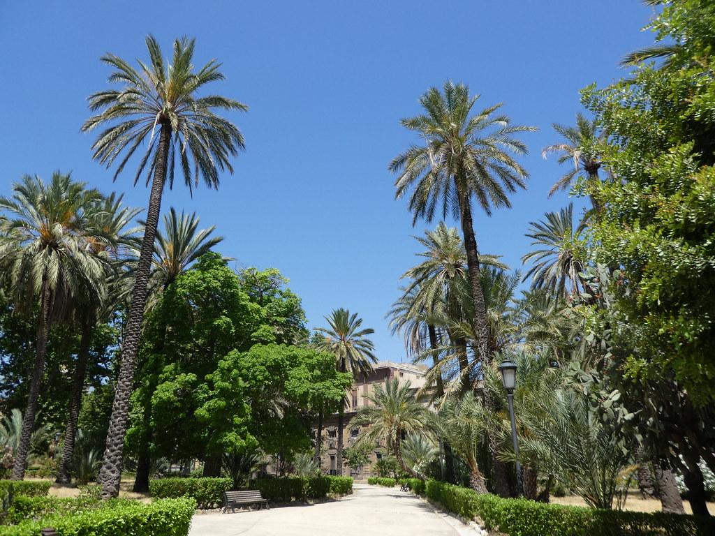 Villa Bananno Gardens, Palermo