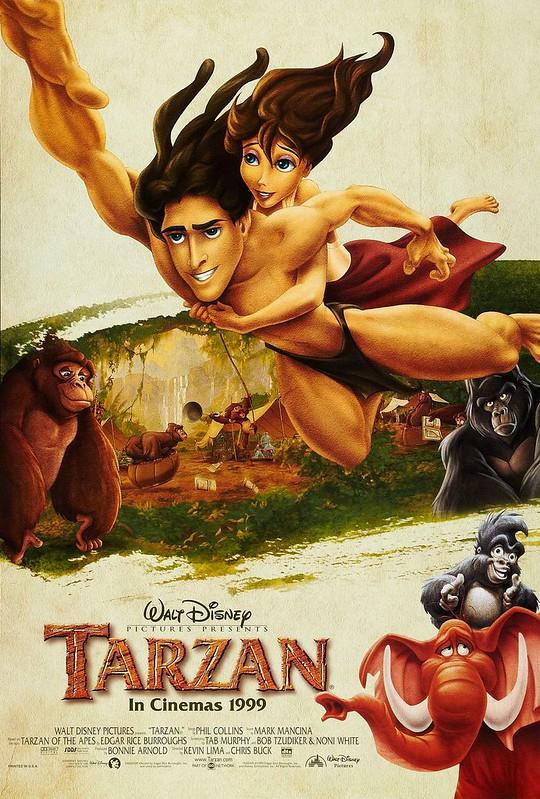 Tarzan - Disney - Poster 3