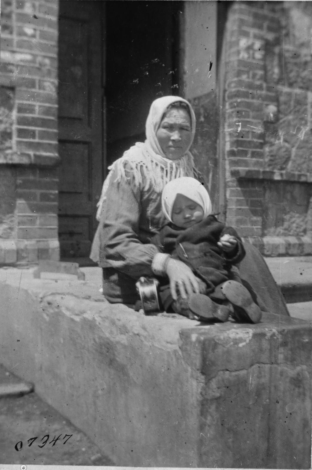 01. 1919. Беженцы в Омске