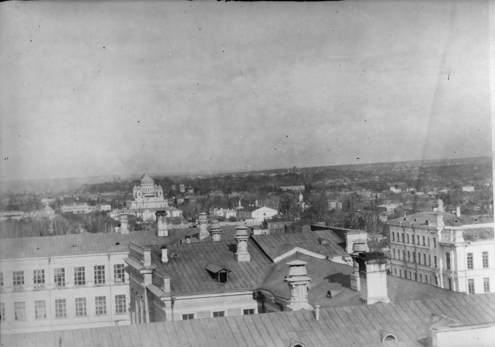 18. 1919. Томск. Здание госпиталя Американского Красного Креста