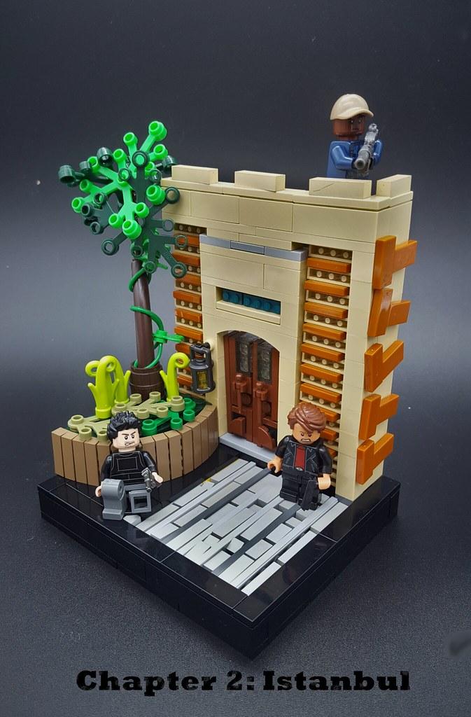 Istanbul… (custom built Lego model)