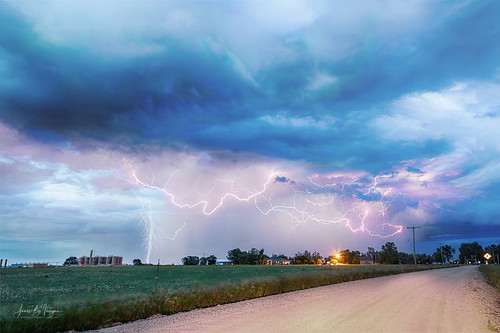 lightning bolts storms thunderstorms climatechange country skies sky clouds gas rural weather nature weldcounty dirtroads angryskies naturelandscapes coloradoweather rain fury jamesinsogna oil fracking electrifyingskies stacks composite canon 5div